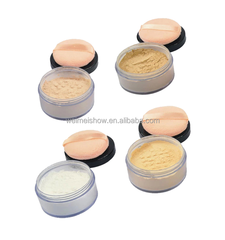 Organic makeup for your own brand loose face powder