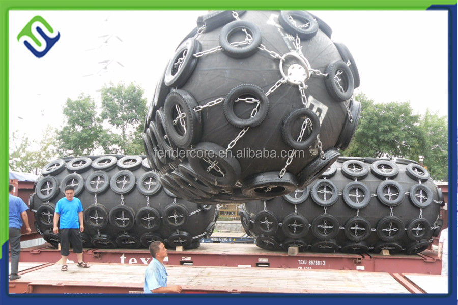Passed BV certificate ship boat pneumatic rubber marine fender