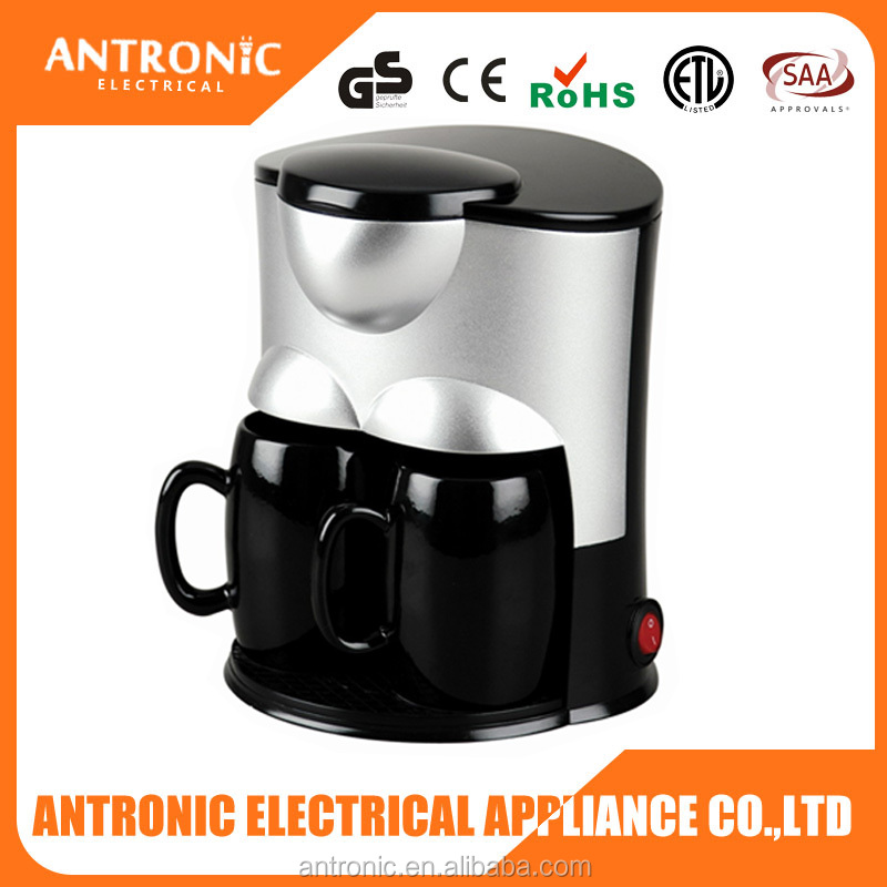 Popular Antronic ATC-CM802 elegant black color making tea or coffee imported coffee machine