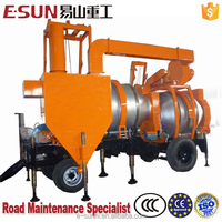 ESUN SLJ-16 Mobile 16t/h concise asphalt supply bitumen mixer
