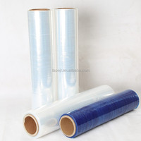 stretch film packaging plastic film roll pe shrink film export from Tianjin