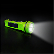 cheap super bright solar torch with AC charge function