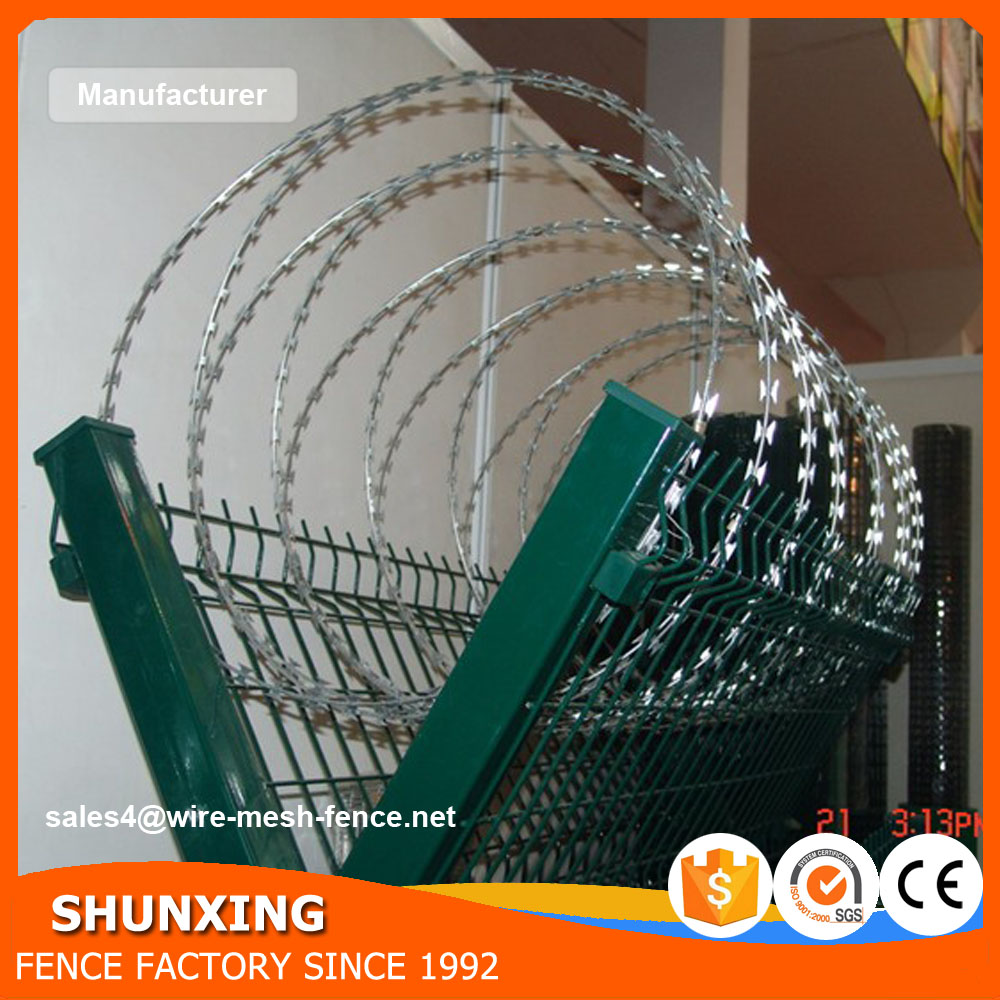 China Factory High Security Razor Barbed Wire Safety Wire Fencing