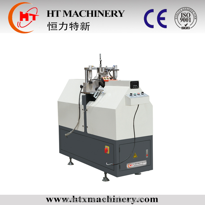 PVC Window Machine/ Mullion Cutting Machine and one time two V shape cut jinan shandong china