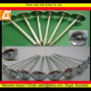 twist shanks coil roofing nailsyellow zinc umbrella roofing nail & Twist Shanks Coil Roofing NailsYellow Zinc Umbrella Roofing Nail ... memphite.com