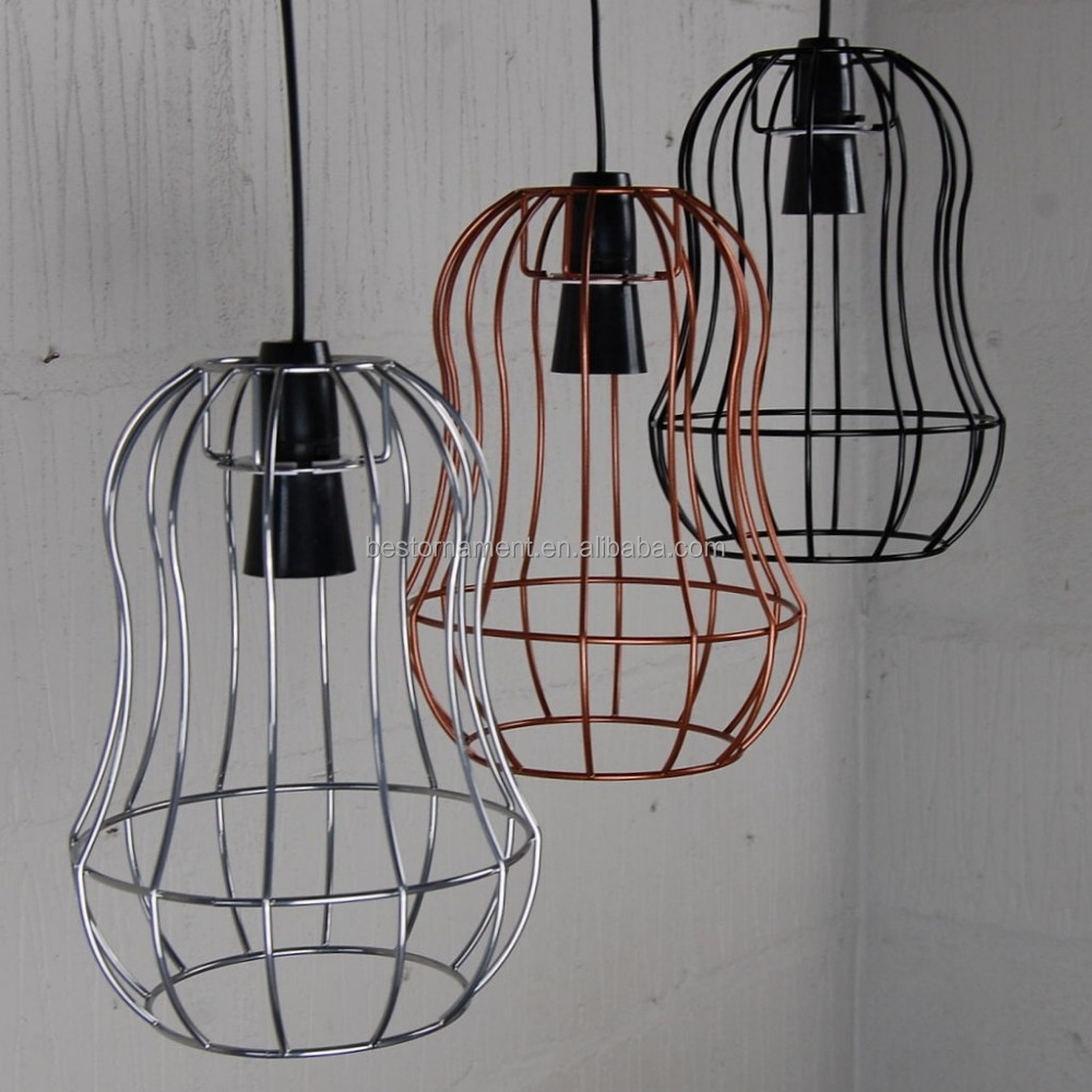 Telford Cage Lamp Metal Wire Pendant Light For Bar Restaurant Vintage Industrial