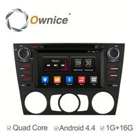 7'' Ownice Android 4.4 quad core car gps for bmw e90e91/e92/e93 support iphone ipod