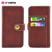 IVYMAX 360 degree full protect leather card slot for iphone 8 cases