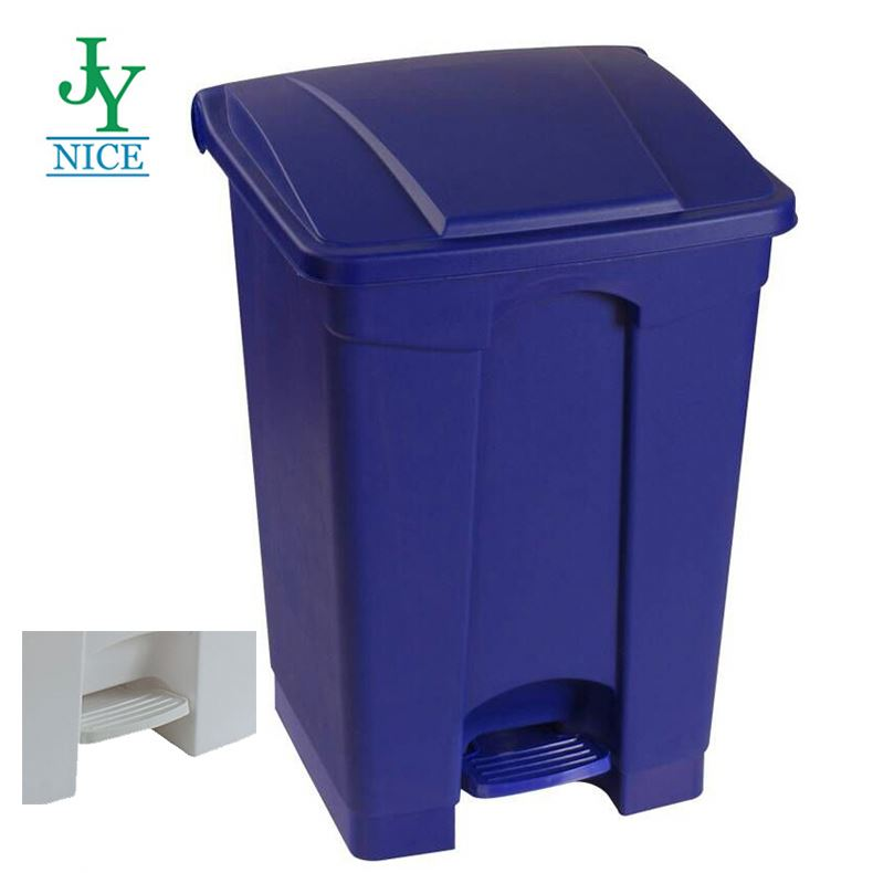 Virgin pp dual plastic restaurant trash can 12 gallon Various size kitchen pedal garbage bins