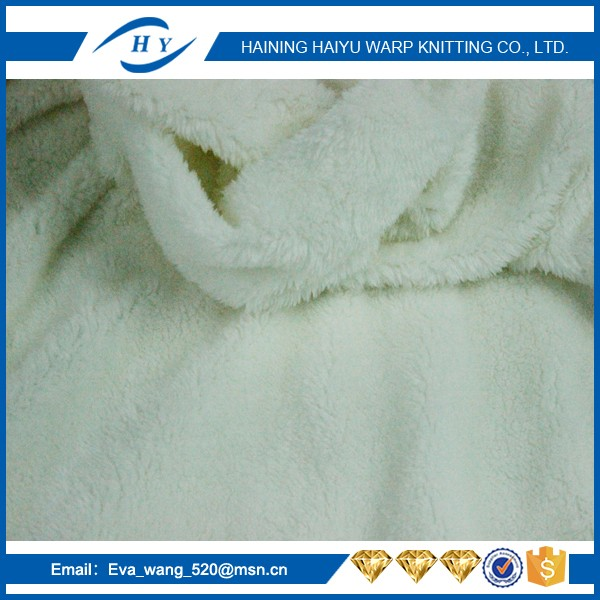 china products 300D/576F sherpa fleece jacket linen fabric