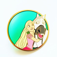 Translucent color Custom Gold Plated Hard enamel lapel pin