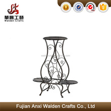 Garden planters flower plant stand iron indoor outdoor pot holder corner patio home decor