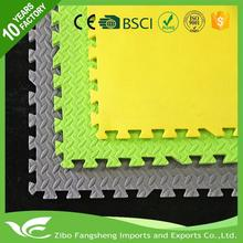 high density rubber Environment Friendly eco foam mat martial arts for wholesales