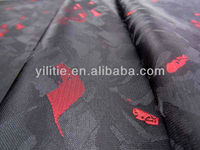 Custom 100% Polyester Jacquard Fabric For Dress