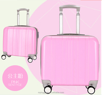 wholesale price PC trolley backpack trolley school bag suitcase