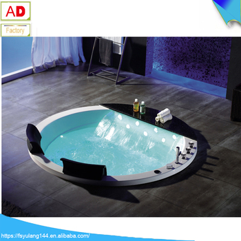 AD 818 Foshan Drop In Large Size Hot Tub Inground 1700 Length Round Bathtub