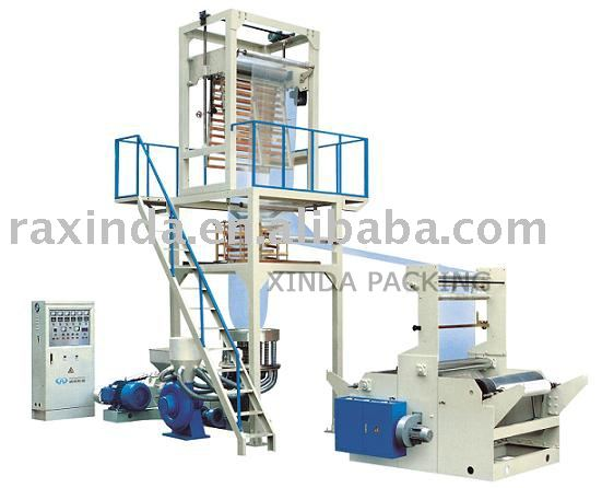 High-speed SJ-55 series PE film blowing machine