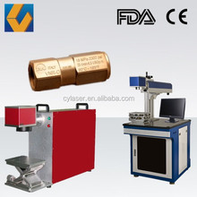 10w / 20W / 50w /100w Jewelry/ring/pipe/hardware/plastic Fibe Laser Marking Machine