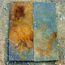 Natural rusty wall cladding slate outdoor landscaping stones slate
