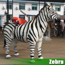 Hot sale!Life size Zebra, lion, elephant and giraffe for outdoor animal show