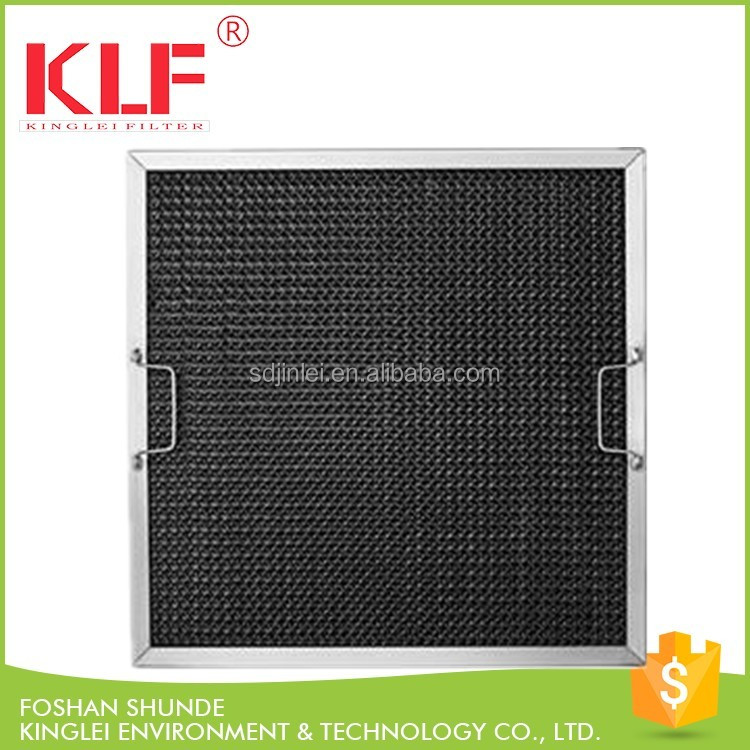 commercial kitchen hood range washable aluminium grease filter honeycomb grease filter