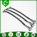 DF9 to DF9 lvds wire cable with black pvc jacket for car
