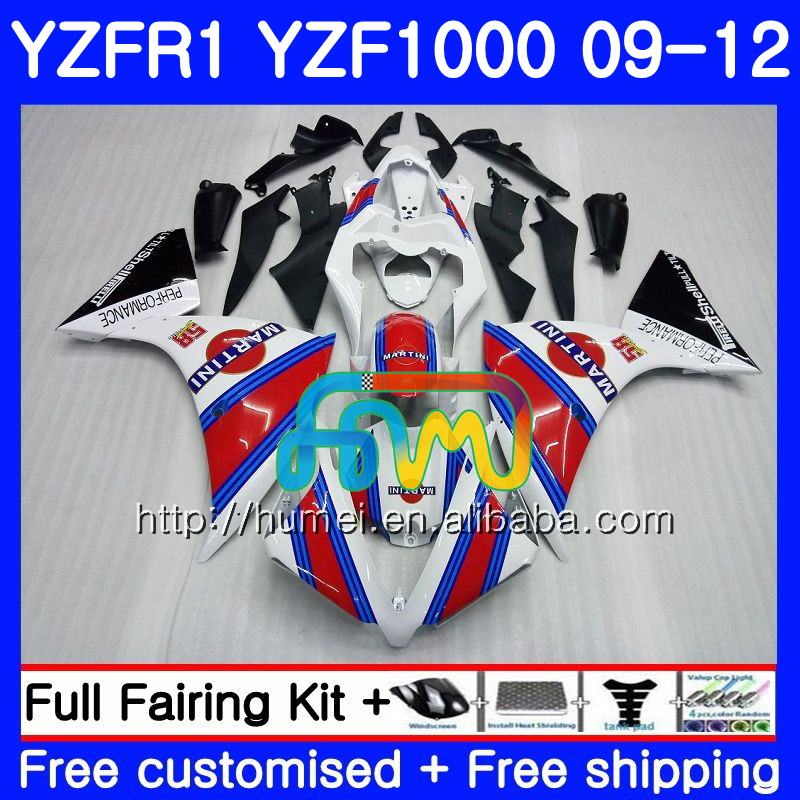 Body For YAMAHA YZF-<strong>R1</strong> white black YZF1000 R 1 YZF-1000 104HM17 YZF 1000 YZF <strong>R1</strong> <strong>09</strong> 10 11 12 YZFR1 2009 2010 2011 2012 Fairing