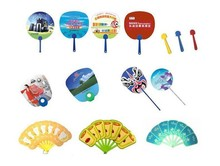 2015 new promotional pp hand fan plastic hand fans