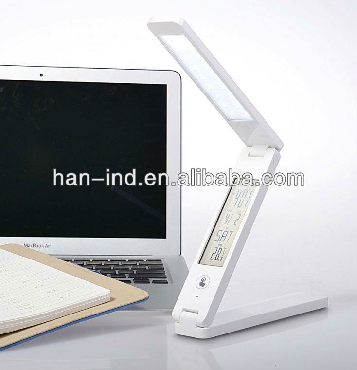 With emergency torch folding touch LED table lamp design