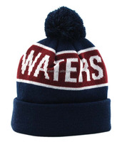 winter jacquard knitted beanie