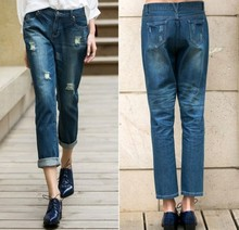 Hot Sale Blue 2014 New Style Fashion Lady Jean Wholesale Price