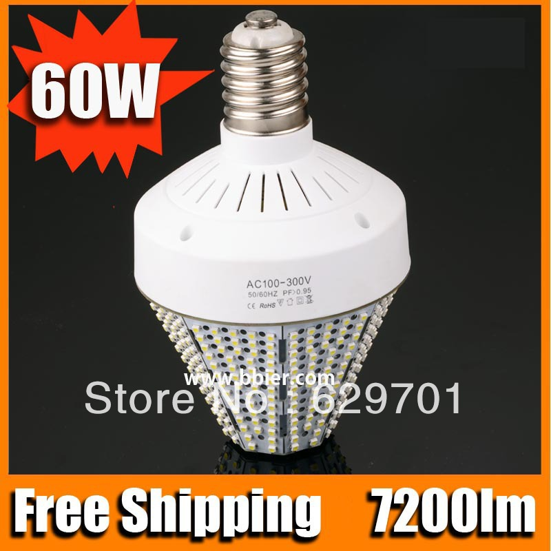 high brightness no uv 60w e40 lampada led