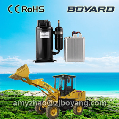 boyard <strong>12v</strong> <strong>r134a</strong> compressor for truck roof sleeper cabin ar condicionado portatil <strong>12v</strong>
