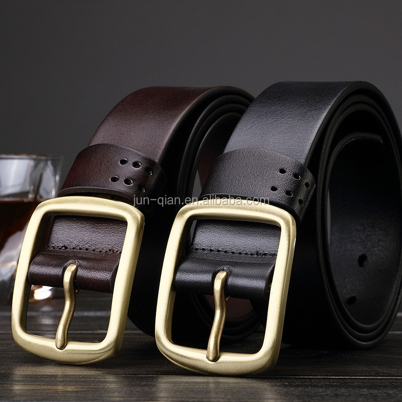 ltalian leather durable embroider belts flexible leather belts