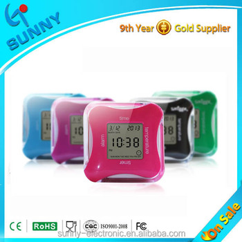 GP3160C with 4 sides functions multifunction table clocks