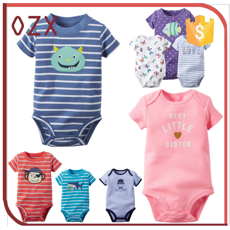 newest apparel design your own baby bodysuit