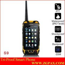 4.5 inch rugged phone MTK6572 dual core rugged 3G smart phone IP67 waterproof dustproof shockproof IPS rugged android phone GPS