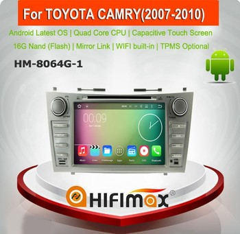 Hifimax Android 7.1 Car Radio GPS Navigation For Toyota Camry 2007/2008/2009/2010 Touch Screen Car DVD Player Without Canbus