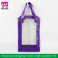 customized order welcome organza bag pvc plastic packaging bag