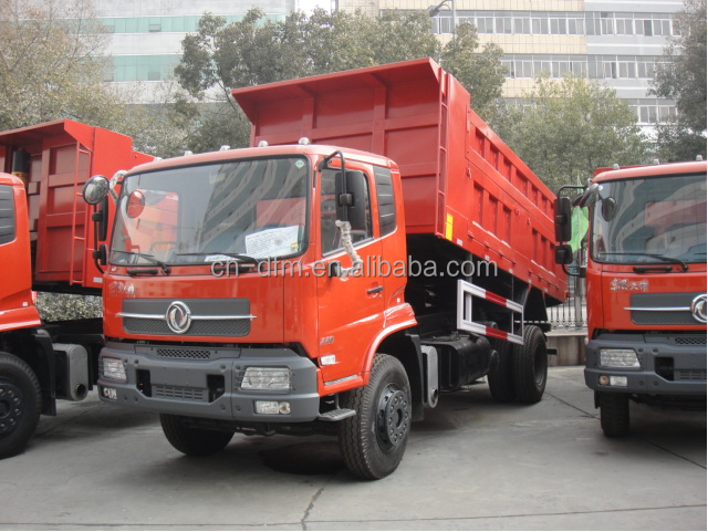 2015 HOT SALE Brand New DongFeng 4x2 Medium Duty Dump Truck DFL3120B Engine 210HP with A/C