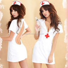 Wholesale Sexy Roll Play Medical Clinic Nurse Costumes for Halloween