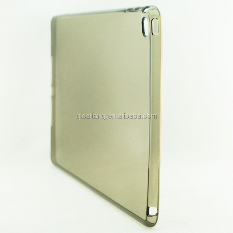 mobilephone transparent plain tpu gel case cover for ipad air 2