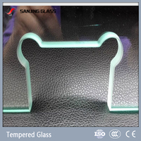 6mm tempered decorative glass price
