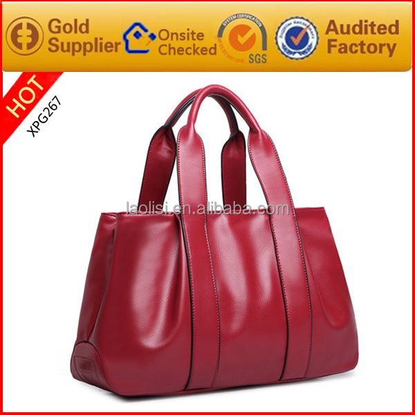 Hot sale smooth leather designer bags handbags women famous brands