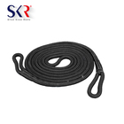 Good quality Polyester Material double braided stretch 4x4 tow rope with