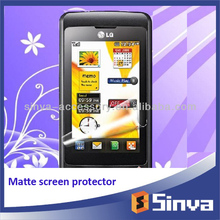 Ultra clear and thin high definition cell phone skin ward screen protector for LG THRIVE P500