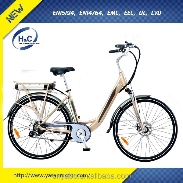 Good price electric city bike 700CC tyre moped with LED display