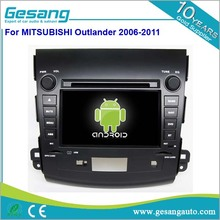 Gesang android 5.1 touch screen car radio gps for Mitsubishi Outlander 2006-2011 car stereo wifi & 3G