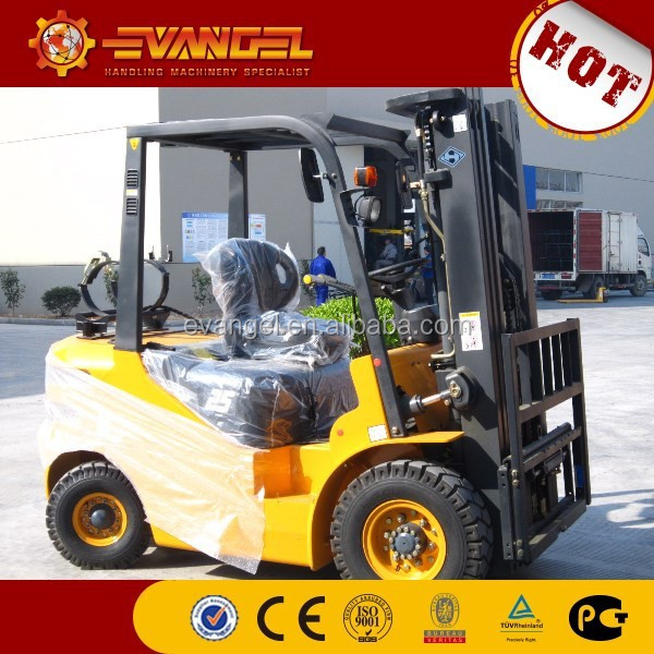 China 3.5ton Huahe diesel forklift bucket for forklift HH35Z-N4-D