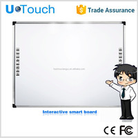 70 inch 4 touch points class smart board/cheap educational interactive whiteboard